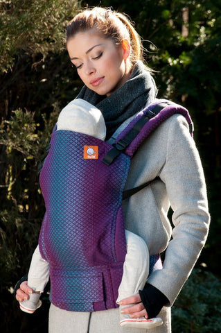 Half Standard WC Carrier - Facett Purple Wrap Conversion - Baby Tula
