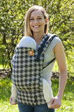 Wrap Conversion Half Standard WC Carrier -  Houndstooth Anthracite - Baby Tula