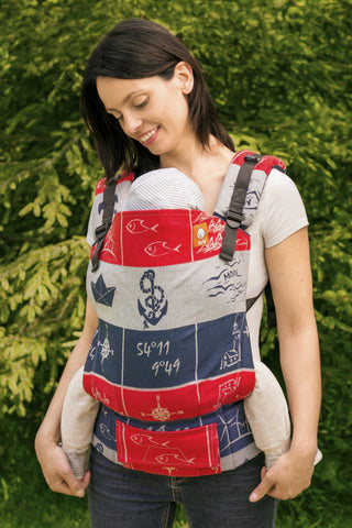 Wrap Conversion Half Toddler WC Carrier - Moin - Baby Tula