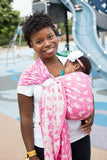 Dino Smile - Cotton Ring Sling