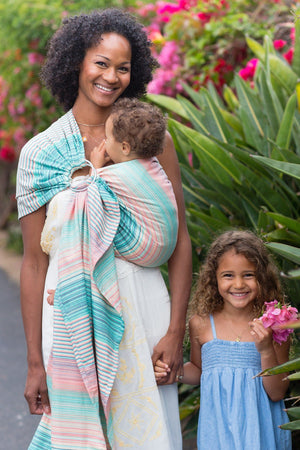 Ring Sling Eirene - Wrap Conversion Ring Sling - Baby Tula - 3