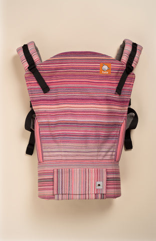 Erizo Blushing Sunset (saumon weft) - Tula Signature Baby Carrier