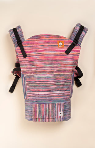 Erizo Wander (rose pale weft) - Tula Signature Baby Carrier