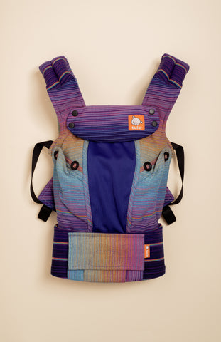 Coast Girasol Dark Princess (azul capitan weft) - Tula Signature Baby Carrier