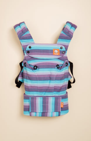 Girasol Light (azul pacifico weft) - Tula Signature Baby Carrier