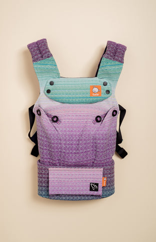 Magabi Purple Lilac (mint weft) - Tula Signature Baby Carrier