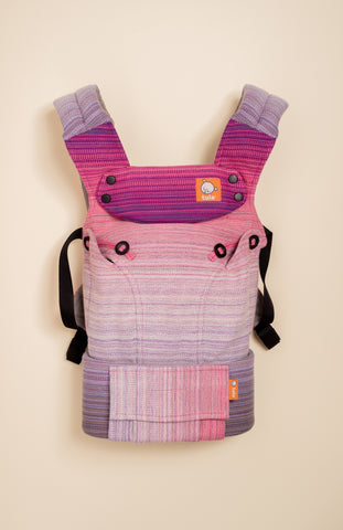 Stewed Rhubarb Cloud 9 (purple weft) - Tula Signature Baby Carrier