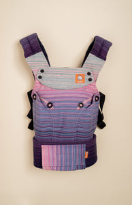 Stewed Rhubarb Surrender (raspberry weft) - Tula Signature Baby Carrier