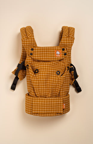 Mikoleon Autumn Windowpane - Tula Signature Baby Carrier