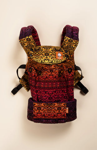 Piofore Space Lava - Tula Signature Baby Carrier Tula Wrap Conversion | Baby Tula