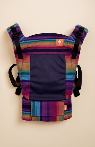 Coast Girasol Rainbow Obsession (azul capitan weft) - Tula Signature Baby Carrier