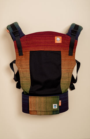 Coast Uppymama The Golden Hour (black weft) - Tula Signature Baby Carrier
