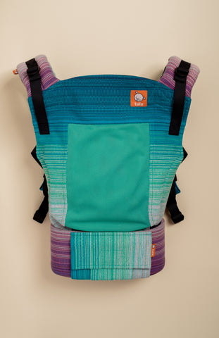 Coast Stewed Rhubarb Same Crooked Timber (peacock weft) - Tula Signature Baby Carrier