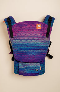 Apple Blossom Wovens + ChiciBeanz Handwoven Dreamer (royal weft) - Tula Signature Baby Carrier Tula Wrap Conversion