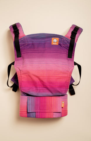Girasol Rose (violetta weft) - Tula Signature Baby Carrier