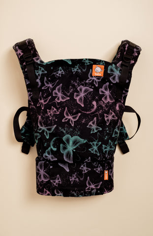 Lolly Wovens Butterfly North Night - Tula Signature Baby Carrier Tula Wrap Conversion