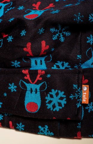 Lolly Wovens Rudolf Snowy Night - Tula Signature Baby Carrier