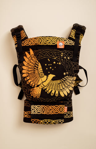 Luluna Kingbird Golden Night - Tula Signature Baby Carrier