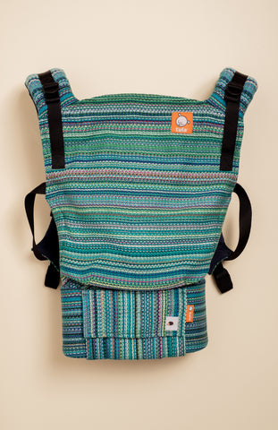 Erizo Wovens Fearless (emerald weft) - Tula Signature Baby Carrier