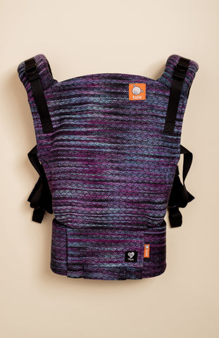 Magabi Midnight Bloom (black weft) - Tula Signature Baby Carrier