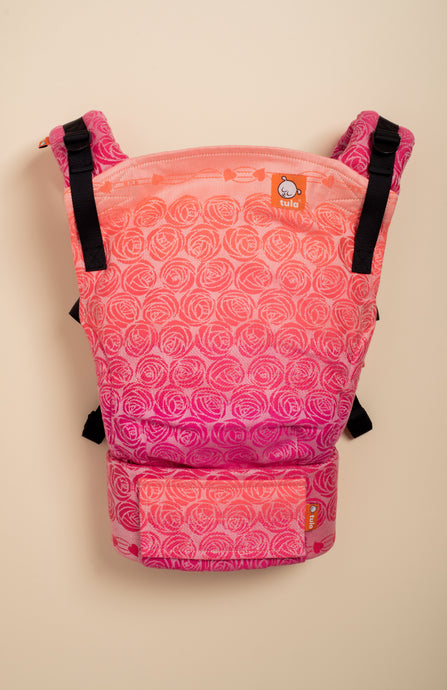 Oscha Roses Malibu - Tula Signature Baby Carrier Tula Wrap Conversion