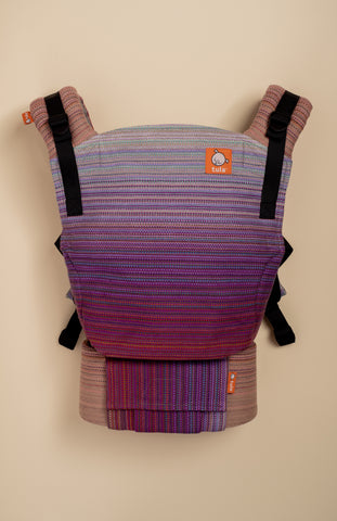 Stewed Rhubarb Forage (soft plum weft) - Tula Signature Baby Carrier