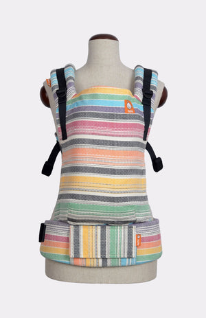 Baby Tula Full Toddler WC - Girasol Riah's Rainbow Crema de Nube Weft Diamond Weave