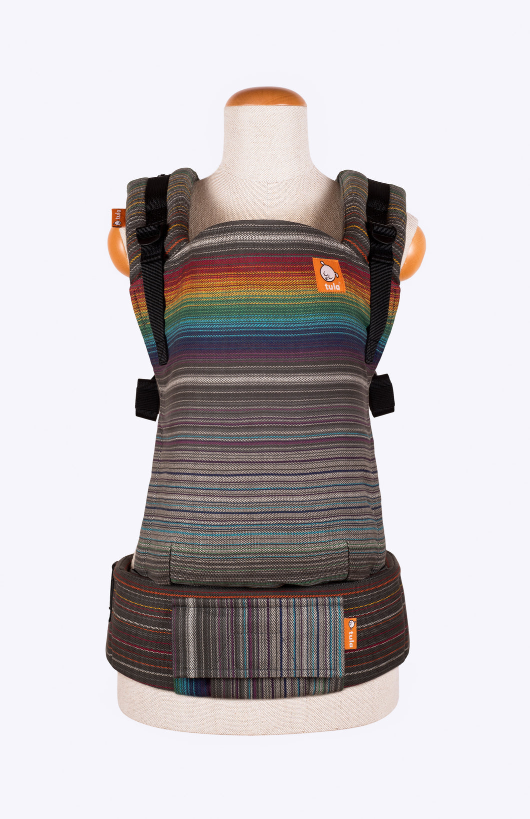 Girasol Fierce Rainbow Perla Humada - Tula Signature Baby Carrier Tula Wrap Conversion | Baby Tula