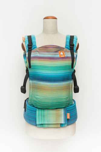 Baby Tula Full Free-to-Grow WC - Girasol Iridescent Dreams Azul Pacifico Weft