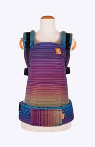 Baby Tula Full Free-to-Grow WC - Girasol Magnificent Rainbow Azul Capitan Weft Diamond Weave