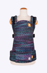 Rainbow Frog Lustrous Dream Black - Tula Signature Baby Carrier