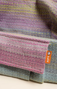 Rhockett Weaving Another Round (grey weft) - Tula Signature Baby Carrier Wrap Conversion