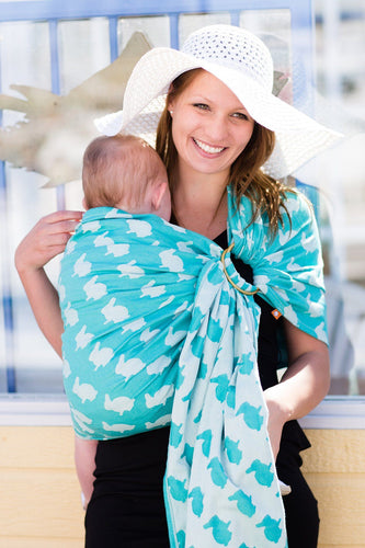 Fluff Isle - Cotton Ring Sling Ring Sling | Baby Tula
