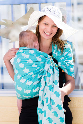 Fluff Isle - Cotton Ring Sling