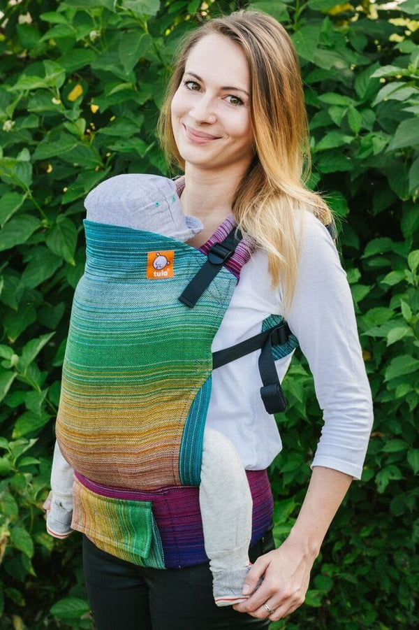 2f7a1f03759 Full Toddler Wrap Conversion Carrier - Coronado Cuervo Wrap Conversion - Baby  Tula