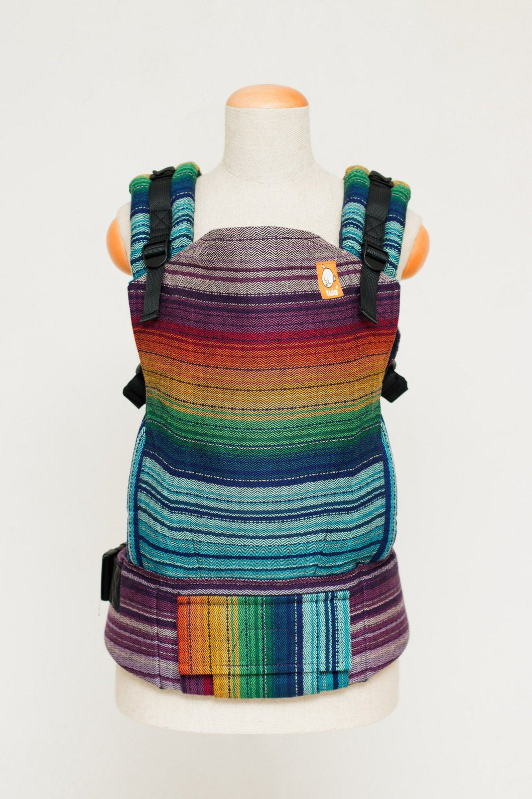 Half Standard WC Carrier - Dessa's Dream Cuervo Weft Wrap Conversion | Baby Tula