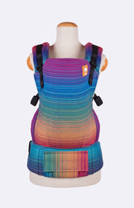 Girasol Lane Azul Capitan - Tula Signature Baby Carrier Wrap Conversion