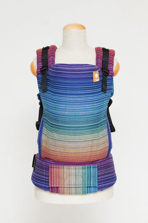 Baby Tula Full Toddler WC - Girasol Magnificent Rainbow Azul Capitan Weft Wrap Conversion