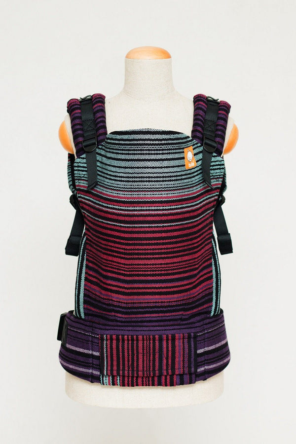 Half Toddler Wrap Conversion Carrier - Midnight Snack Cuervo