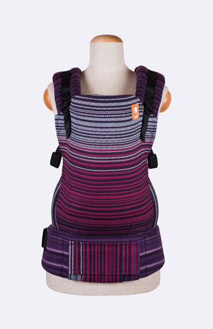 Baby Tula Full Toddler WC - Girasol Midnight Snack Purpura Romana Weft Herringbone Weave