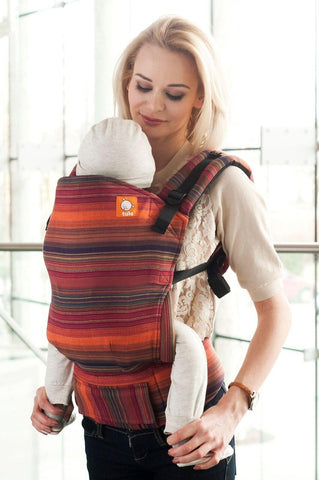 Half Toddler WC Carrier - Girasol Sierra Wrap Conversion - Baby Tula