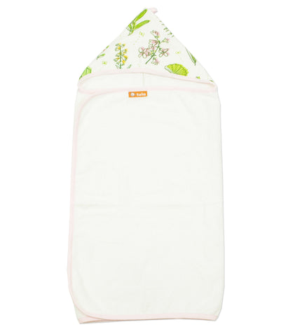 Greenery - Tula Hooded Towel Towel | Baby Tula