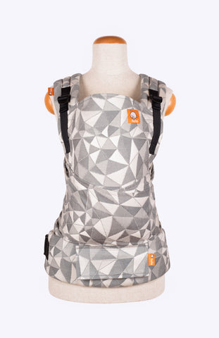Tula Woven Vertices Storm - Tula Signature Baby Carrier