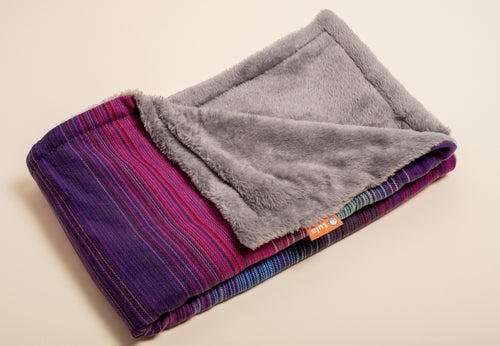 Girasol Geneva (purpura romana weft) - Tula Signature Heirloom Blanket