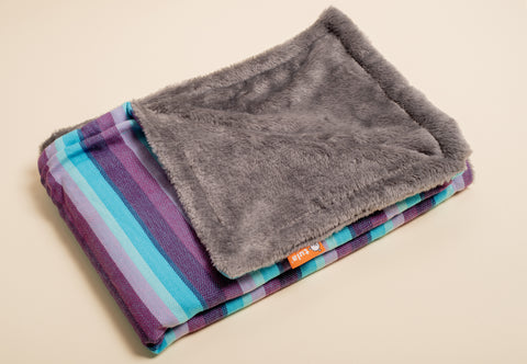 Girasol Light (azul pacifico weft) - Tula Signature Heirloom Blanket