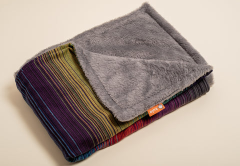 Girasol Summit (cuervo weft) - Tula Signature Heirloom Blanket