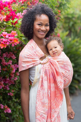 Heliconia Tropics - Wrap Conversion Ring Sling Ring Sling - Baby Tula