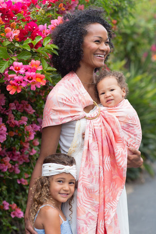 Heliconia Tropics - Tencel Blend Ring Sling