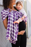 Hexahedron Haze - Wrap Conversion Ring Sling Ring Sling - Baby Tula