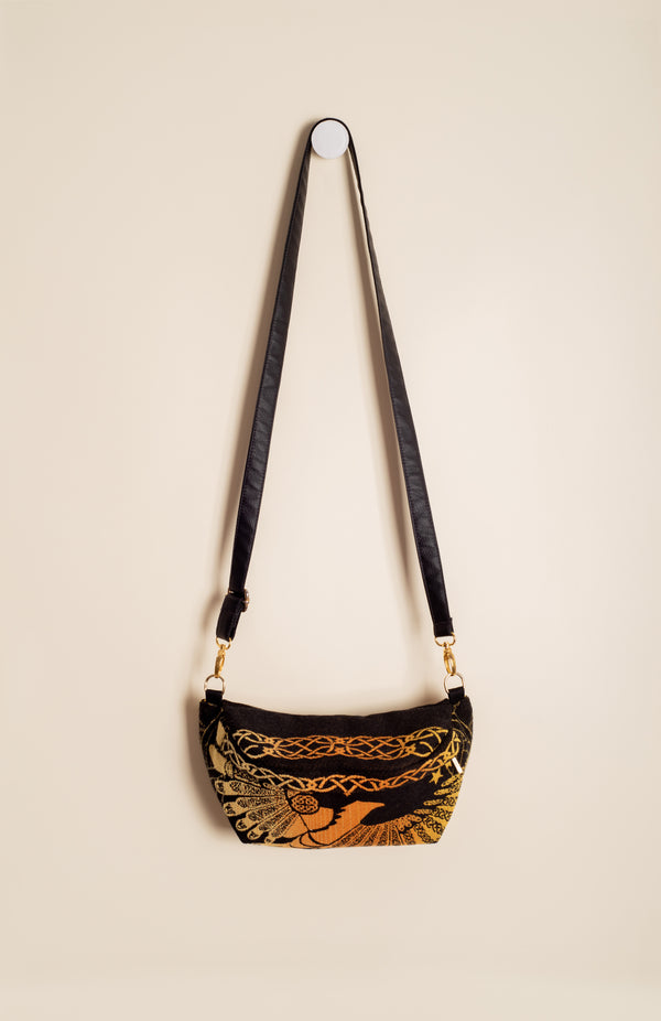 Luluna Kingbird Golden Night - Tula Signature Hip Pouch